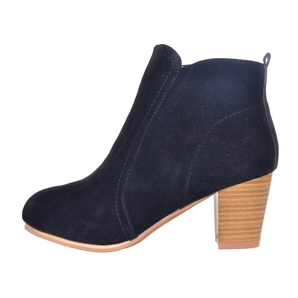 GRAND New Arrival Women Ankle Boots Fashion Ladies Women Boots