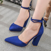 HEE GRAND 2019 New Women Thick Heel