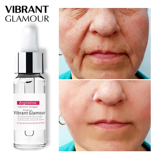 VIBRANT GLAMOUR Argireline Collagen Peptides Serum Face