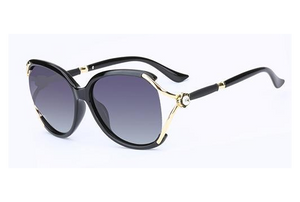 Large Frame Retro Sunglasses