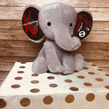 Personalized Stuffed Elephant