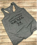 Party girl Racerback Tanks
