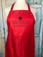 Make grilling great again apron