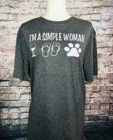 Simple woman tshirt