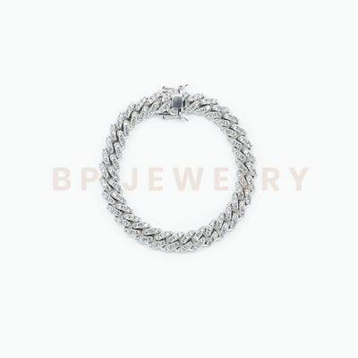 Silver Cuban Anklet - BERNA PECI JEWELRY