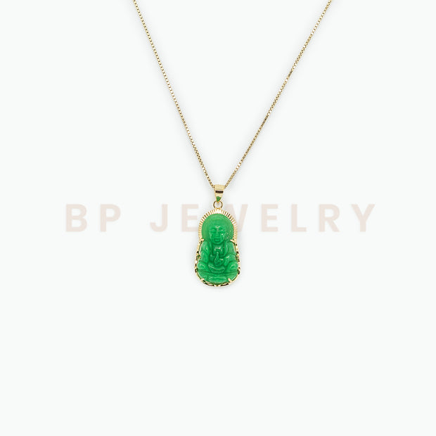 New Peace Jade Necklace - BERNA PECI JEWELRY