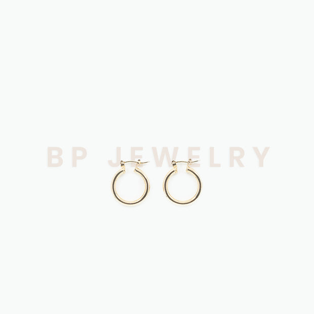 Mini Gold Hoops - BERNA PECI JEWELRY