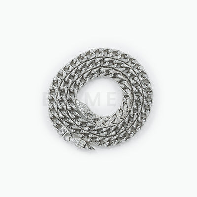 Custom Mens Thicker Silver Rope Chain - BERNA PECI JEWELRY