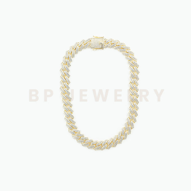 New Ultimate Gold Crystal Cuban - BERNA PECI JEWELRY