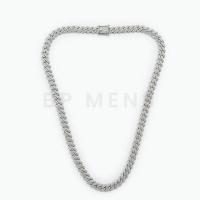 Mens Custom Silver Cuban - BERNA PECI JEWELRY