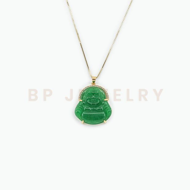 New Large Diamond Buddha - BERNA PECI JEWELRY