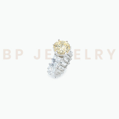 Silver Canary Marry Me Ring The Second - BERNA PECI JEWELRY