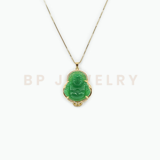 New Embroidered Buddha Necklace - BERNA PECI JEWELRY
