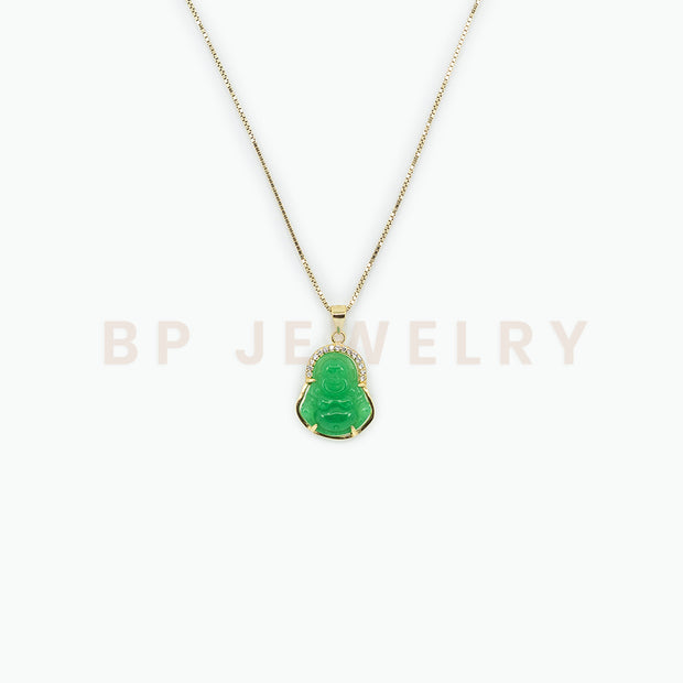 New Jade Mini Buddha - BERNA PECI JEWELRY