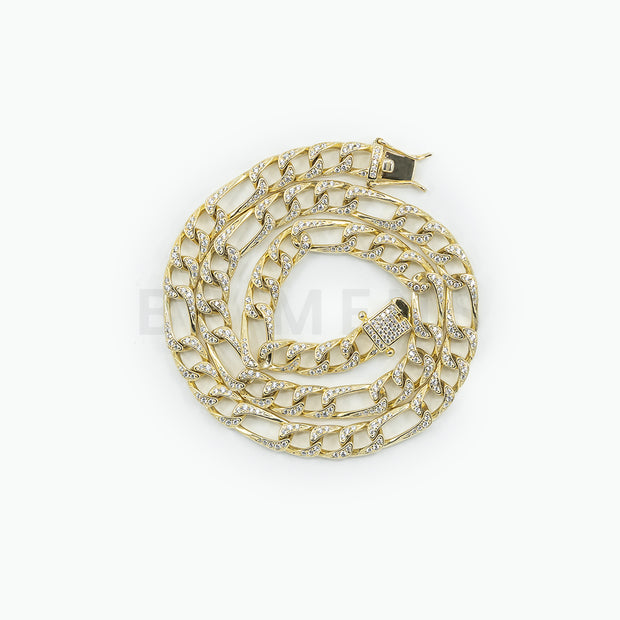 Custom BP Mens Thicker Gold Chain - BERNA PECI JEWELRY