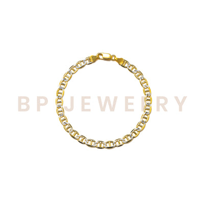 New 2 Toned Anklet - BERNA PECI JEWELRY