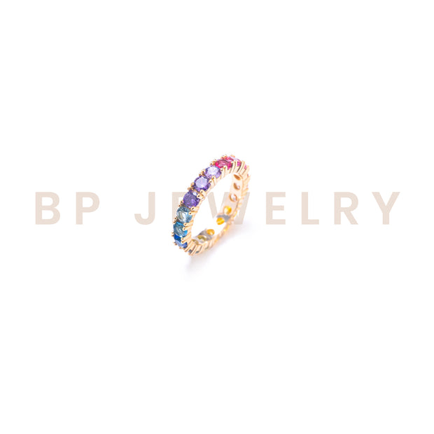 Gold Rainbow Ring - BERNA PECI JEWELRY