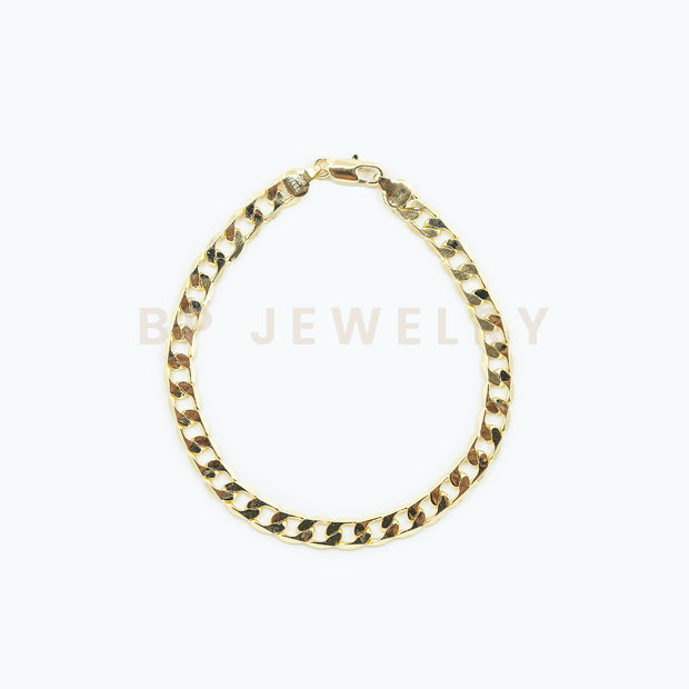 New Gold BP Anklet - BERNA PECI JEWELRY
