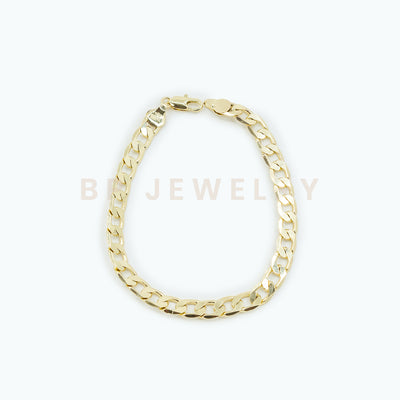 Thick Gold Summer Anklet - BERNA PECI JEWELRY
