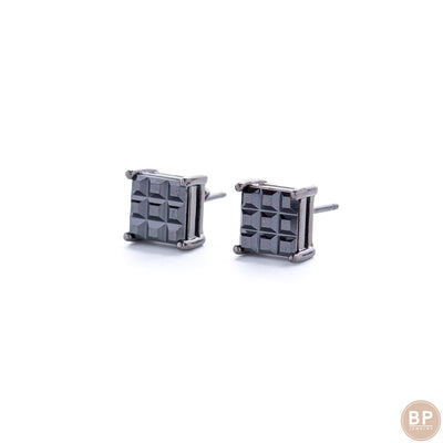Black Ice Studs - BERNA PECI JEWELRY
