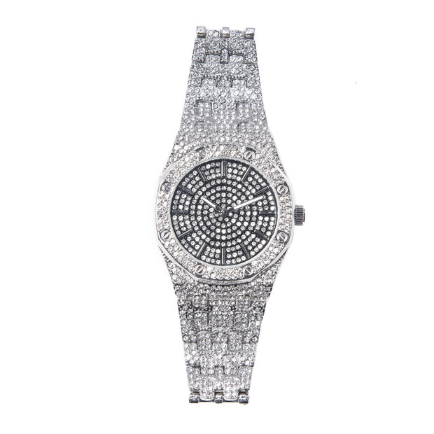 Black Iced Out Watch - BERNA PECI JEWELRY