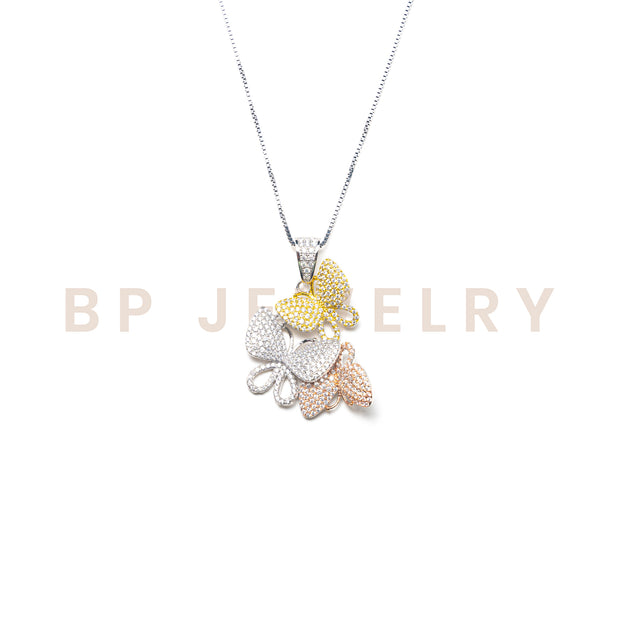 Multicolored Butterfly Chain - BERNA PECI JEWELRY