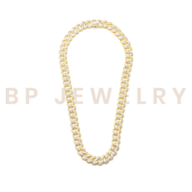 Gold Diamond Cuban Link - BERNA PECI JEWELRY