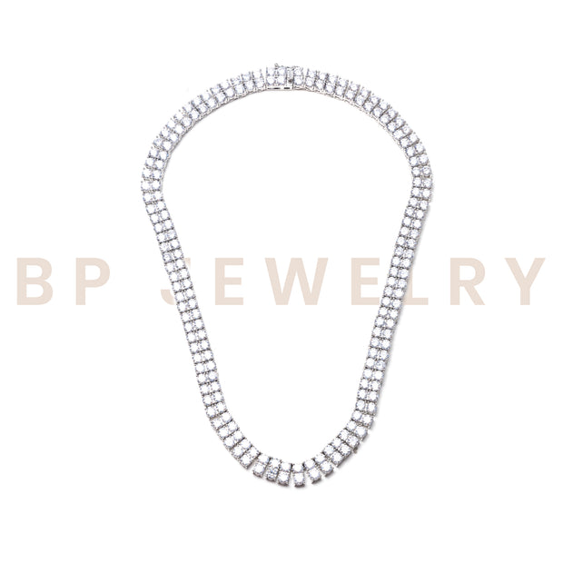 New Layered Icy Diamond Necklace - BERNA PECI JEWELRY