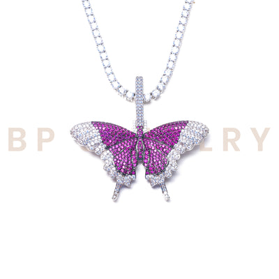 Purple Fairy Butterfly Set - BERNA PECI JEWELRY