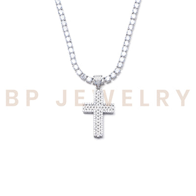 BP Icy Diamond Cross Set - BERNA PECI JEWELRY