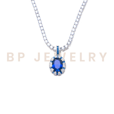 Fairytale sapphire Diamond Necklace - BERNA PECI JEWELRY