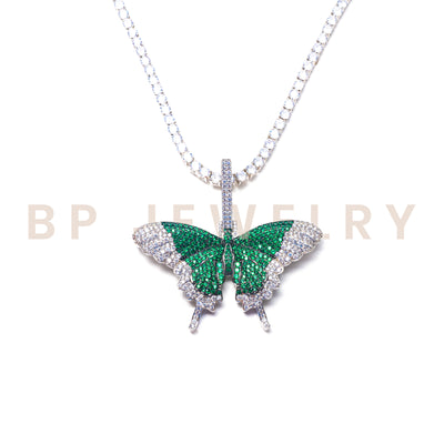 Emerald Fairy Butterfly Set - BERNA PECI JEWELRY