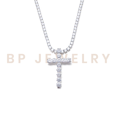 All Around Diamond Cross Set - BERNA PECI JEWELRY