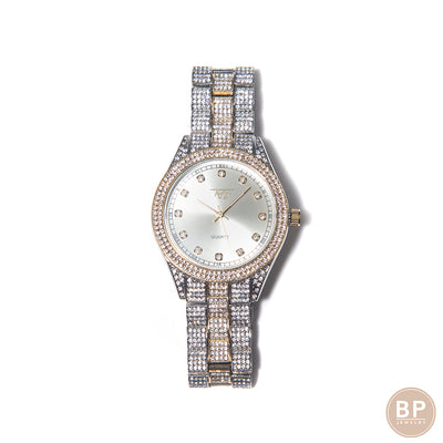 BP Two Toned Diamond Watch - BERNA PECI JEWELRY