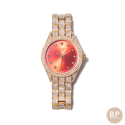 Red Classic Diamond Watch - BERNA PECI JEWELRY