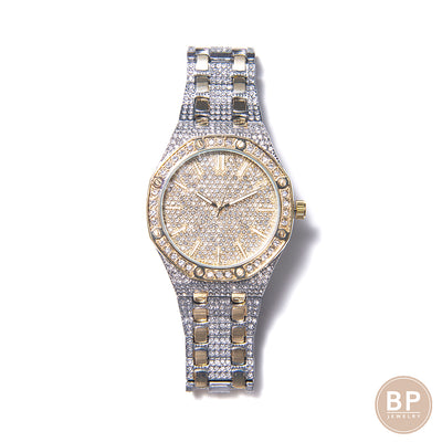 Two Tone BP Ice Watch - BERNA PECI JEWELRY