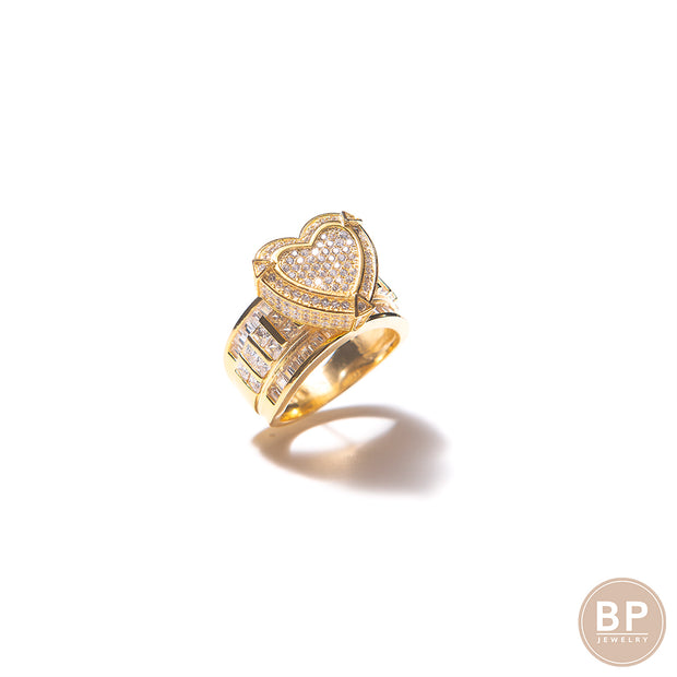 The Gold Self Love BP Ring - BERNA PECI JEWELRY