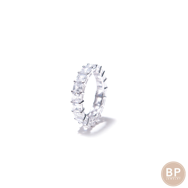 The Silver Eternity Band - BERNA PECI JEWELRY