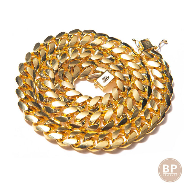 Made In Italy Thick Chain - BERNA PECI JEWELRY