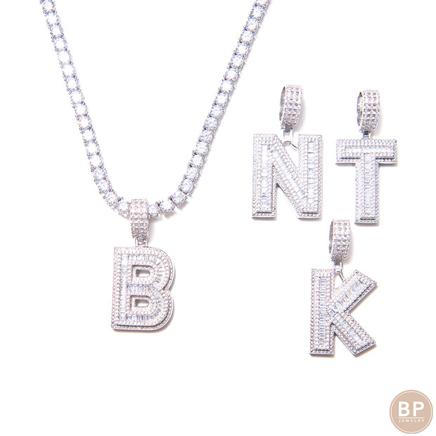 New BP Diamond Boss Set Initials - BERNA PECI JEWELRY