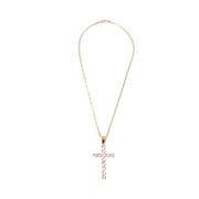 BP Day One Gold Cross Necklace Set - BERNA PECI JEWELRY