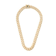BP Day One Traditional Gold Link Necklace - BERNA PECI JEWELRY