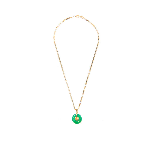 Lucky Charm Gold Necklace - BERNA PECI JEWELRY