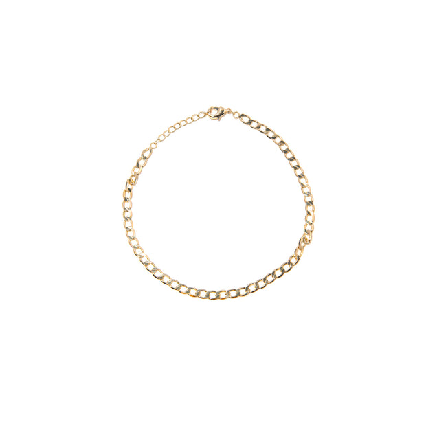 Everyday Link Gold Anklet - BERNA PECI JEWELRY