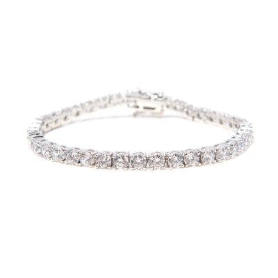 Day One Silver Diamond BP Bracelet - BERNA PECI JEWELRY