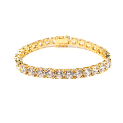 Bigger Stone Diamond Gold Bracelet - BERNA PECI JEWELRY