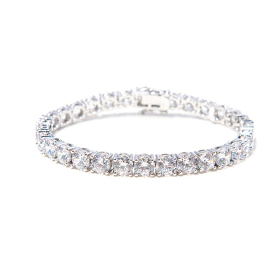 Bigger Diamond Stone Bracelet - BERNA PECI JEWELRY