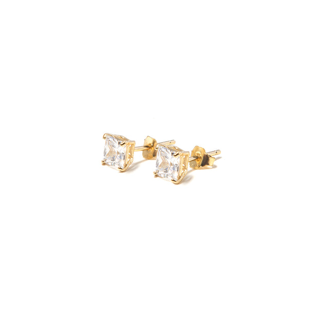 Classic Square Studs Earrings - BERNA PECI JEWELRY