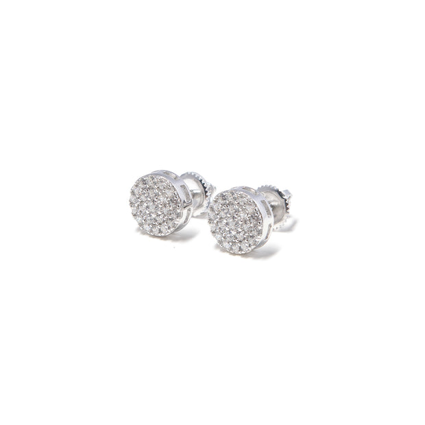 Silver Stud Earrings - BERNA PECI JEWELRY