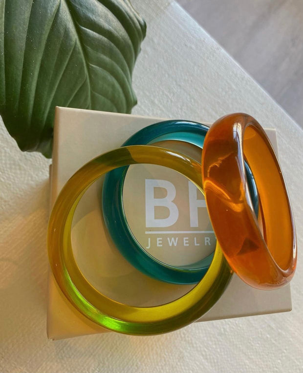 Transparent Bangle - BERNA PECI JEWELRY